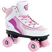 Rio Roller Quad Skates - Cancer Research Edition - Size - UK 3 - Multi