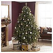 Festive Emerald PE Pine Christmas Tree, 7ft