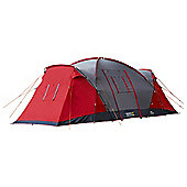 Regatta 6-Man Atlin Vis-A-Vis Tunnel Tent Red