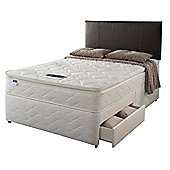 Silentnight Miracoil Pillowtop Fiji King 2 Drawer Divan Set