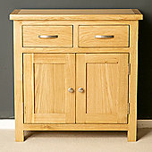 London Oak Mini Sideboard - Lacquer Finish