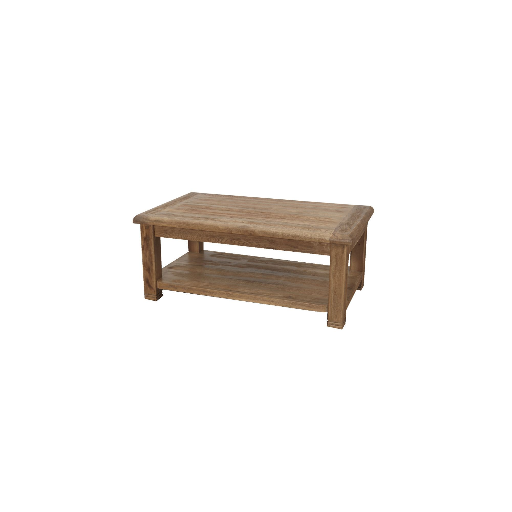 Furniture Link Danube Coffee Table in Weathered Oak at Tesco Direct