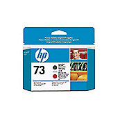 HP 73 Matte Chromatic Printhead -Black and Red