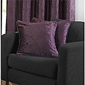 Velvetine 1 pair Cushion Covers - Heather