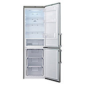 LG GBB539PVQWB Fridge Freezer, 595mm, A+ Energy Rating, Silver