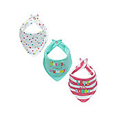Mummy and Daddy Bandana Bibs - 3 Pack
