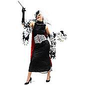 Cruella De Vil - Adult Costume Size: 8-10