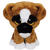 TY Beanie Boo Plush - Brutus the Boxer Dog 15cm