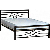"""Home Essence Kelly Low Foot End Bed Frame - Double (4' 6"""")"""