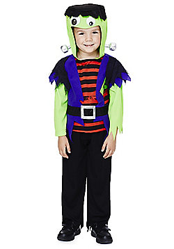 F&F Halloween Frankenstein's Monster Dress-Up Costume - Purple, Green & Red