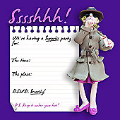 Holy Mackerel Sssshhh! Party Invitations, Pack of 8