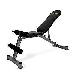 Bodymax CF324 Adjustable Weight Bench - Flat Incline Decline bench and Ab board