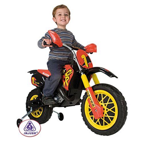 Moto Cross 6V Ride-On Scrambler With Helmet