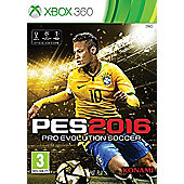 Pro Evolution Soccer 2016 Day One Edition Xbox 360 (Free PES 2016 20th anniversary football with every Pre-order)