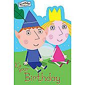 Ben & Holly Birthday Card