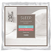 Tesco Duck Feather Duvet 10.5 Tog, Single