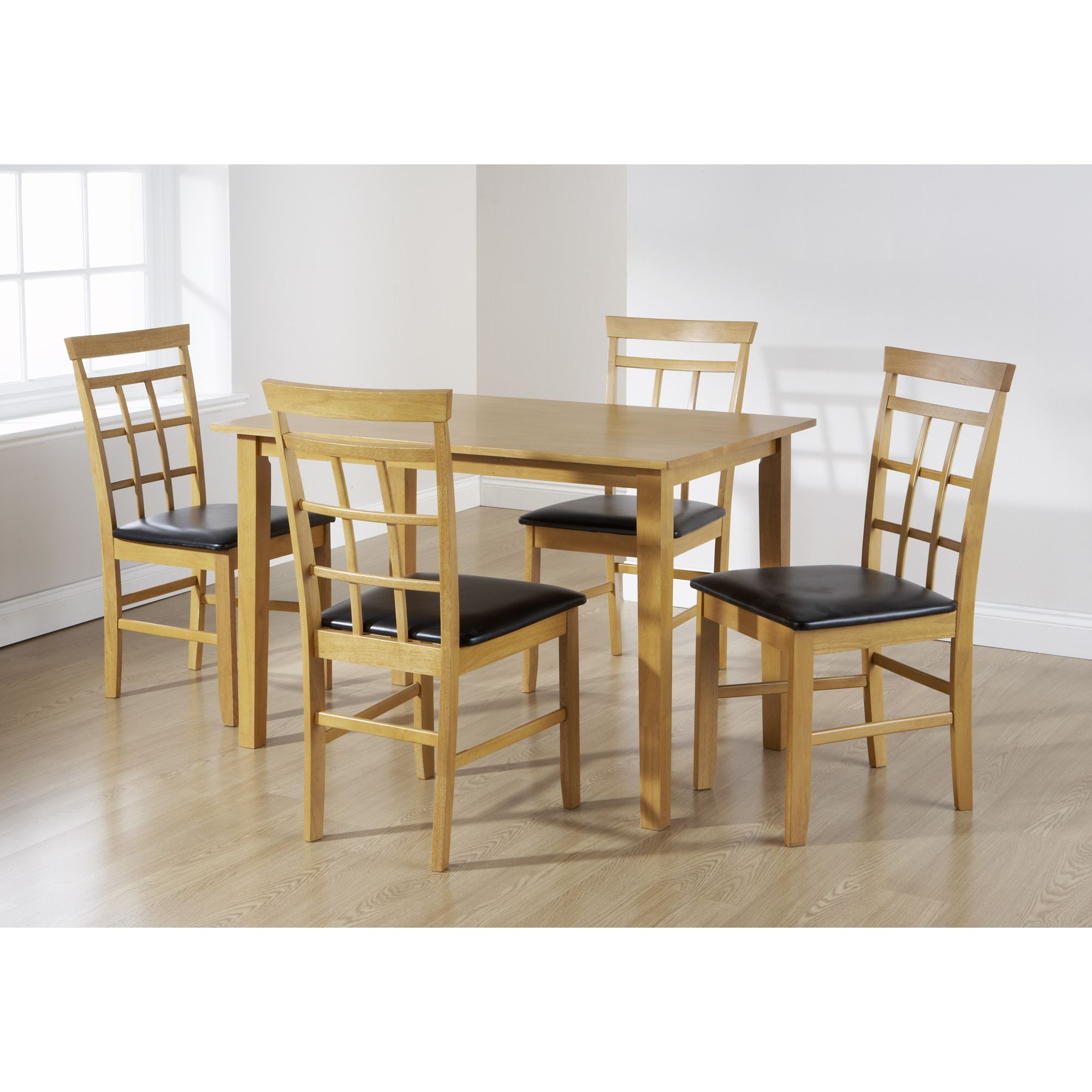 Elements Bude 5 Piece Dining Set - Oak at Tescos Direct