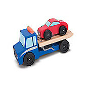 Melissa and Doug - Flatbed Tow Truck