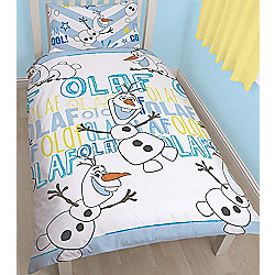 Disney Frozen Bedding, Olaf. Rotary Style Single