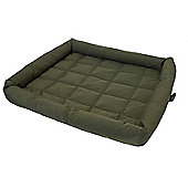 """Rosewood Pet Products 40 Winks Water Resistant Mattress Dog Bed in Green - Small - 55.88cm (22"""")"""