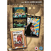 Wes Anderson Collection - Rushmore, Life Aquatic, Royal Tenenbaums DVD