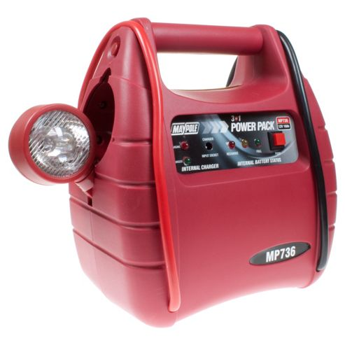 3 In 1 Power Pack /Jump Start, Portable Power, LED Torch