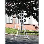 Trade 2.4m (7.87ft) Standard - Garden Hedge Cutting Tripod Ladder