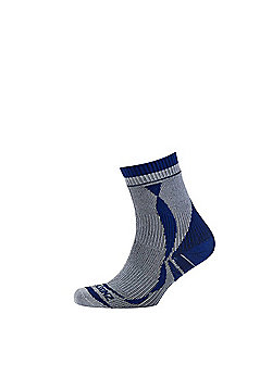 SealSkinz Thin Ankle Length Sock - Grey