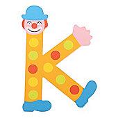 Tatiri Crazy Clown Letter K ((Orange) Spots)