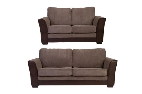 Buy Devon 3 2 Seater Sofa Set Mink From Our Sofa Beds