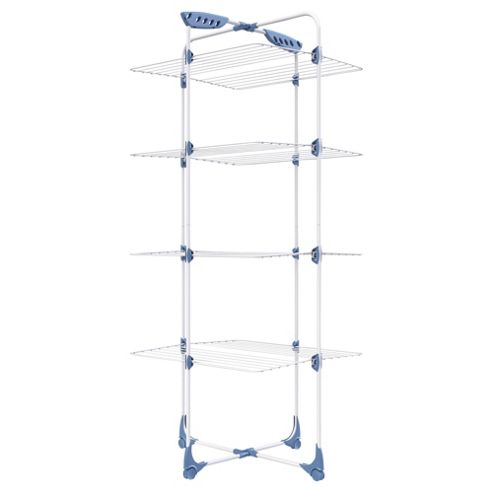 buy minky clothes airer tower 30m from our indoor airers. Black Bedroom Furniture Sets. Home Design Ideas