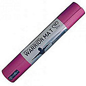 Fitness-Mad Warrior Yoga Mat - Pink - 4mm