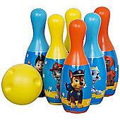 Paw Patrol Bowling Game