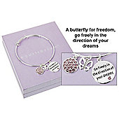 Freedom and Dreams Charm Bangle