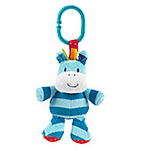 Mothercare Safari Zebra Rattle and Jiggle