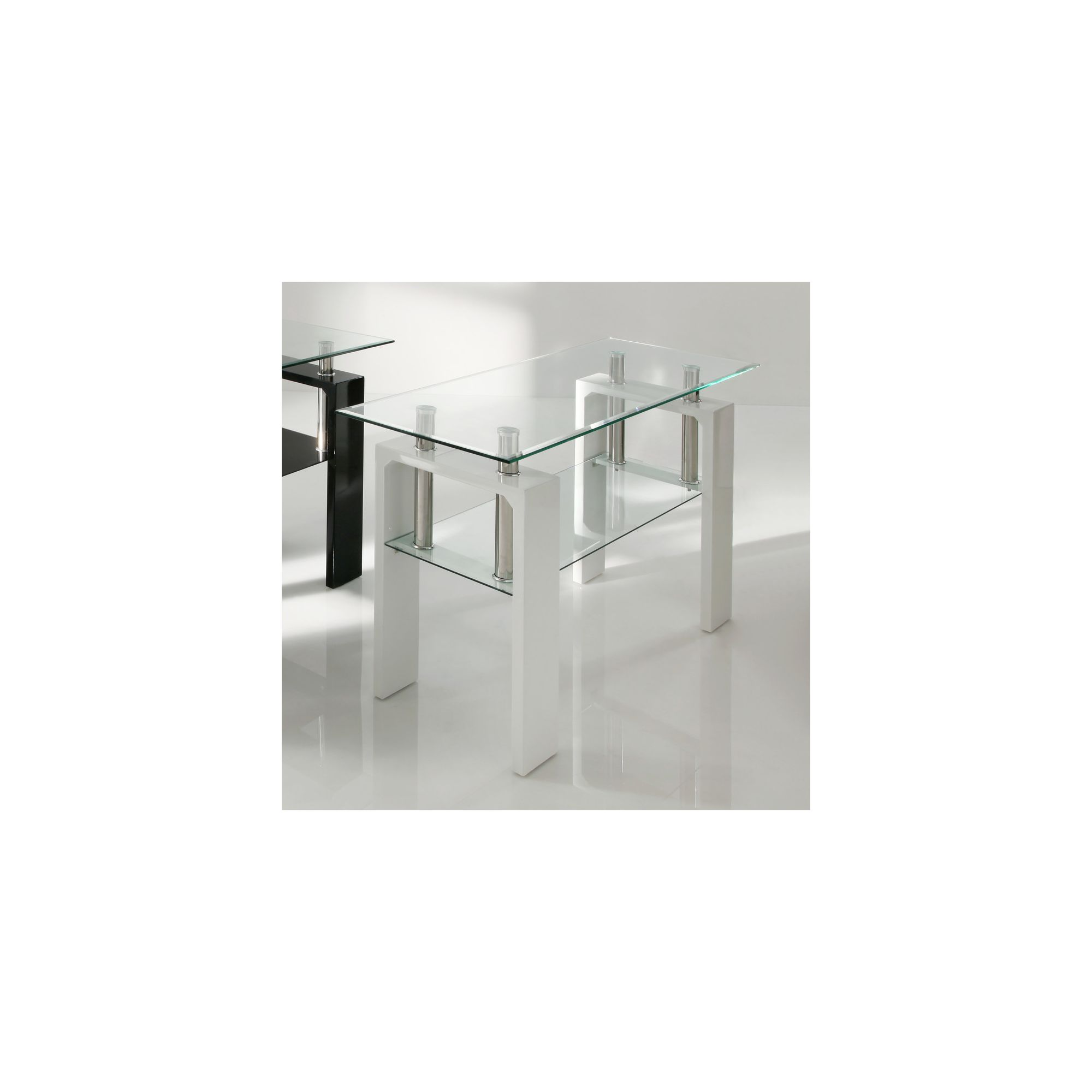 Wilkinson Furniture Calico Console Table - White
