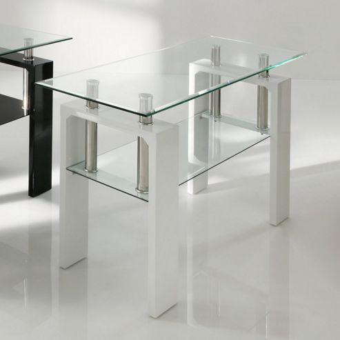 Wilkinson Furniture Calico Console Table - White