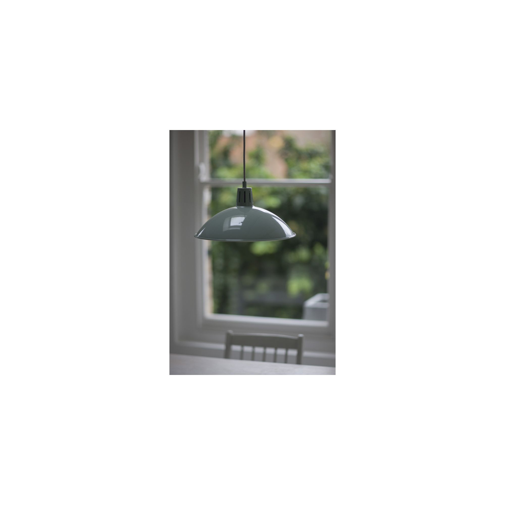 Garden solar lights tesco : Garden trading battersea pendant in shutter blue