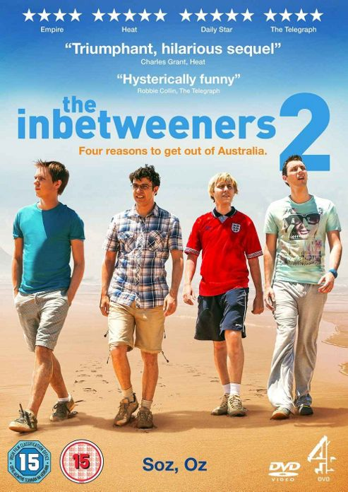 The Inbetweeners Movie 2 - Dvd