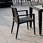Varaschin Altea Dining Armchair by Varaschin R and D (Set of 2) - Bronze - Piper Canvas