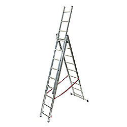 TB Davies Light Duty 4Way 3.14m (10.3ft) Combination Ladder