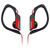 PANASONIC SPORTS RPHS34 HEADPHONES Red