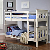 Percy Bunk Bed - White