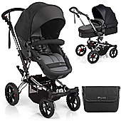 Jane Crosswalk Convert Pushchair (Black)