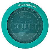 Gourmet 4-piece Cheese Plate Set