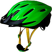 Kiddimoto Cycle Helmet - Neon Green - Small