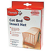 Clippasafe Cot Bed Insect Net in Cot Bed Size
