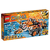 LEGO Chima Tiger's Mobile Command 70224
