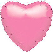 Pink Heart Balloon - 18' Foil (each)