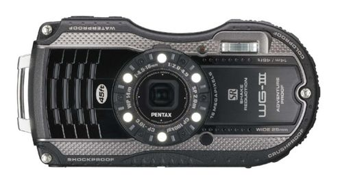 Pentax Optio WG-3 Digital Camera, 16MP, 4x Optical Zoom, 3